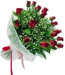 Balıkesir internetten çiçek satışı  11 adet kirmizi gül buketi sade ve hos sevenler