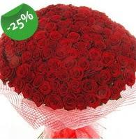 151 adet sevdiğime özel kırmızı gül buketi  Balıkesir çiçek siparişi sitesi